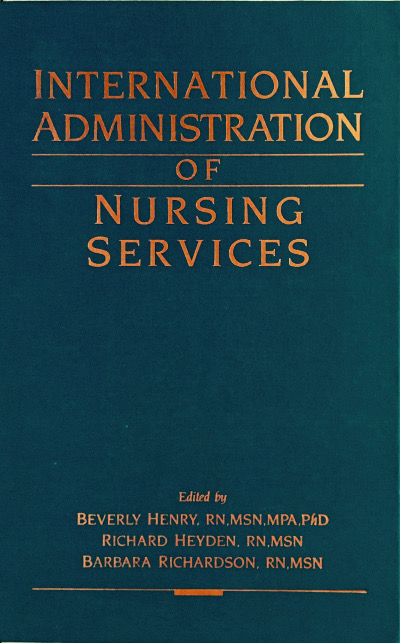International Administration of Nursing Services