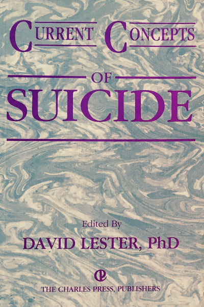 Current Concepts of Suicide